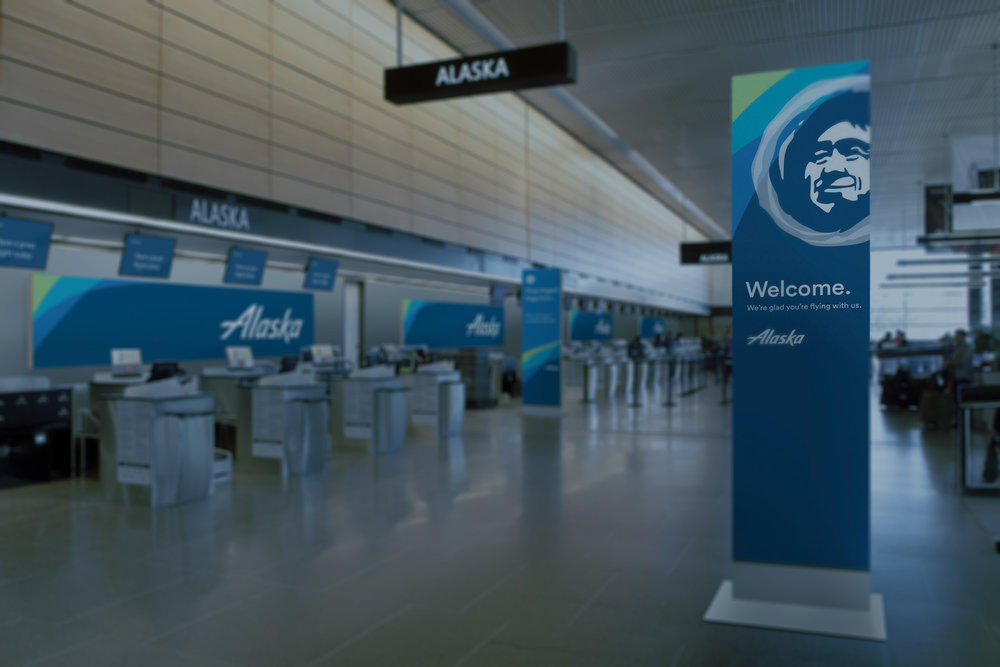 alaska airlines | call center ux strategy - Visual + UX Design