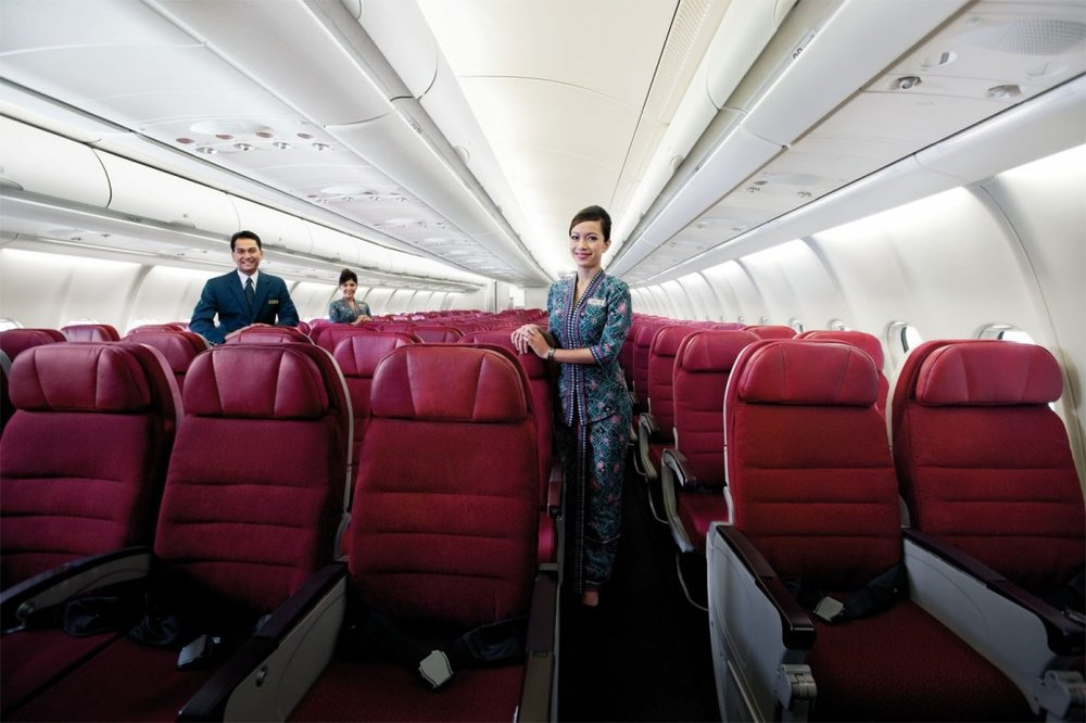 Malaysia Airlines A330 Economy Seats