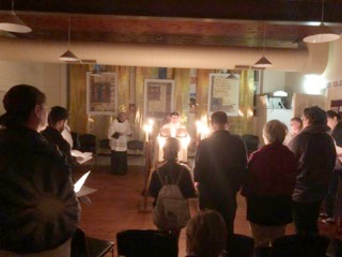 The Easter Vigil at St Mary Magdalene's
