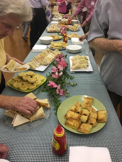 High Tea in the St Francis Community Centre