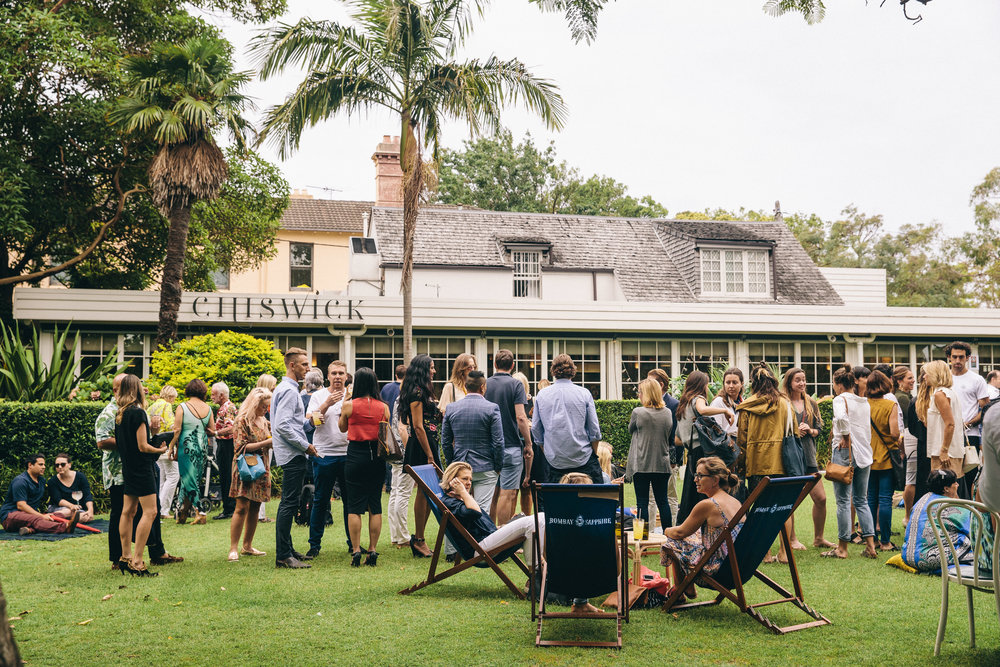 In collaboration with Bombay Sapphire, you're invited to Gin On The Lawn this month, every Wednesday evening in February from 5:30pm to 7:30pm.  - learn more →