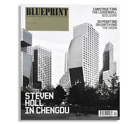 Building Bytes featured in BluePrint Magazine (UK)