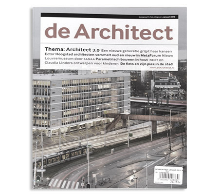 Building Bytes featured in de Architect Magazine (Netherlands)