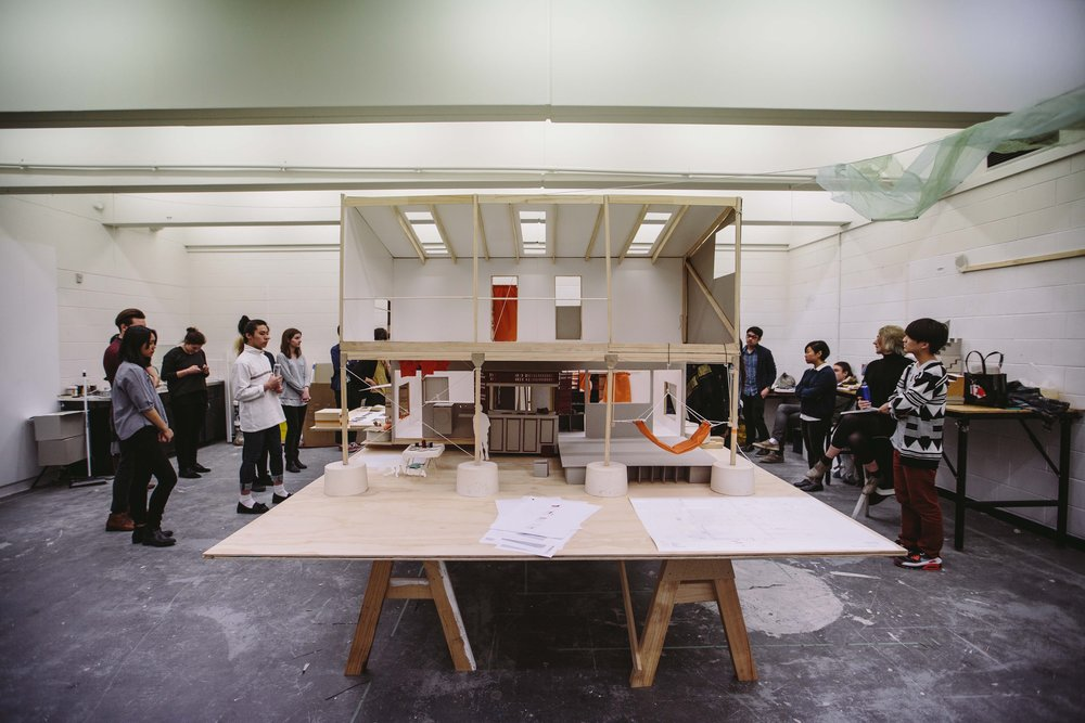 Monash Art Design Architecture, design workshop with Torafu Architects (Tokyo), 2015
