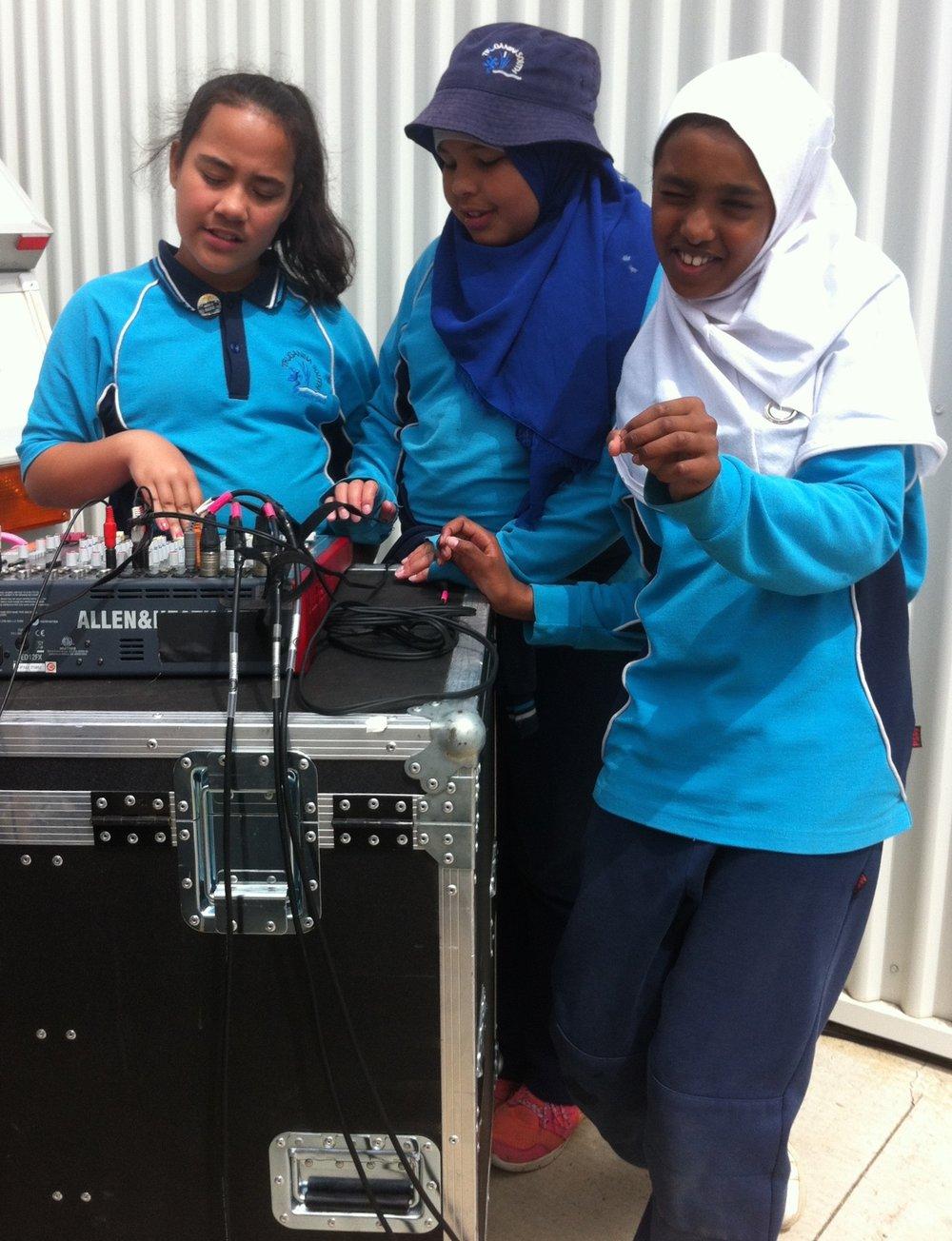 Mobile Radio mentorees, 2015