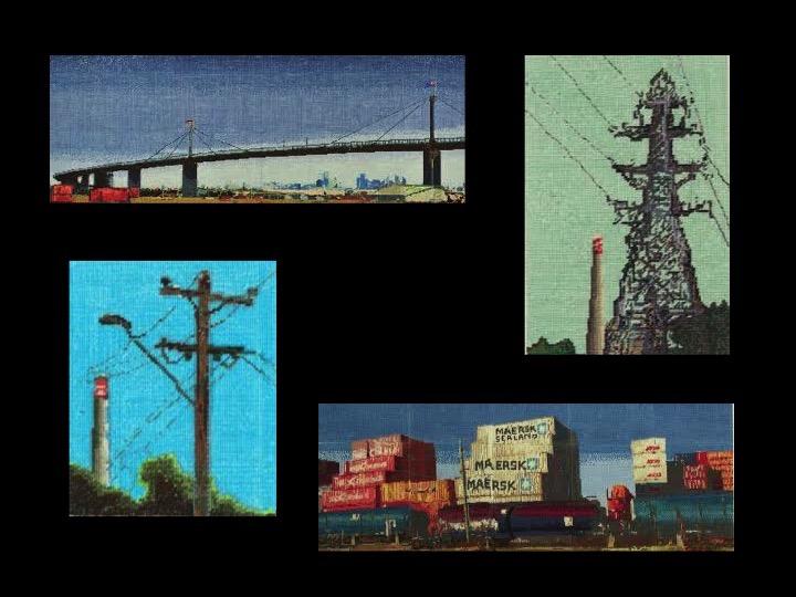 Needlepoint West, Jessie Deane, Footscray Community Arts Centre 2013