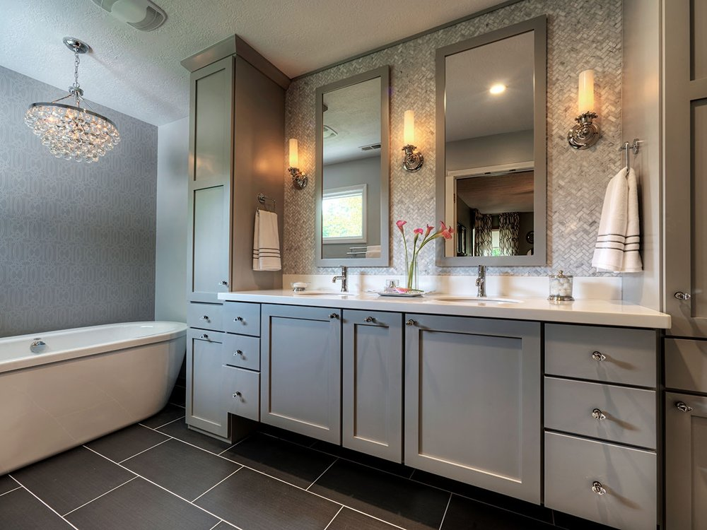 2015 1st PLACE IN BATH DESIGN   ASID Indiana chapter recognized Yamini Designs with its Excellence in Design Award by a small firm.   Learn more about the project.