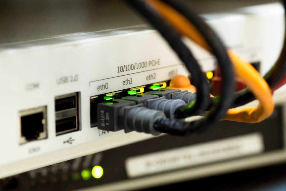 network and wifi infrastructure - fiber switch