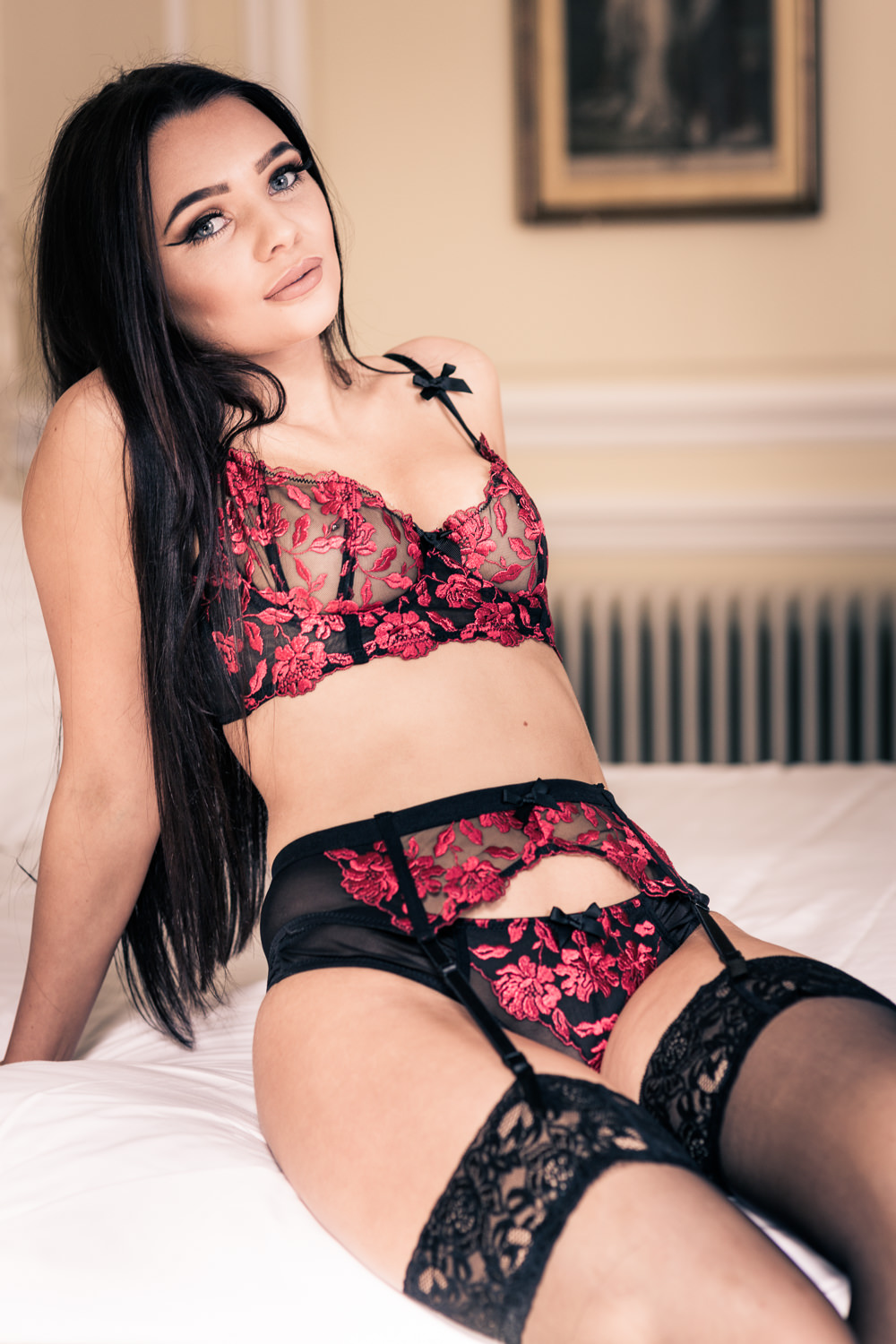 Newcastle boudoir photo shoot