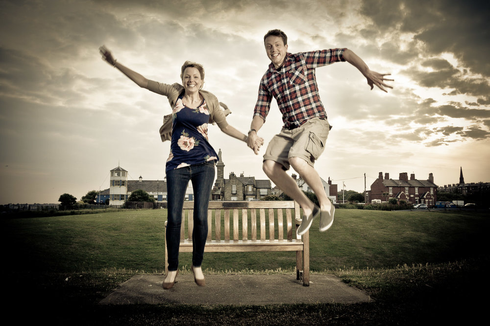 engagement pre wedding photo tynemouth