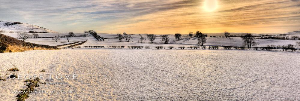 Snow panorama