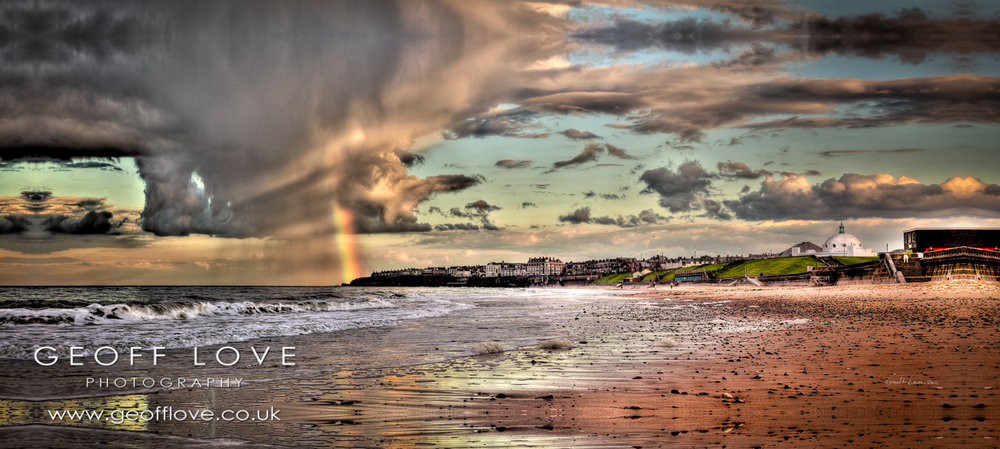Whitley Bay Rainbow