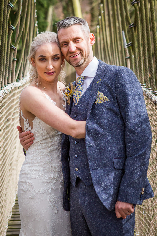 rope bridge wedding alnwick treehouse