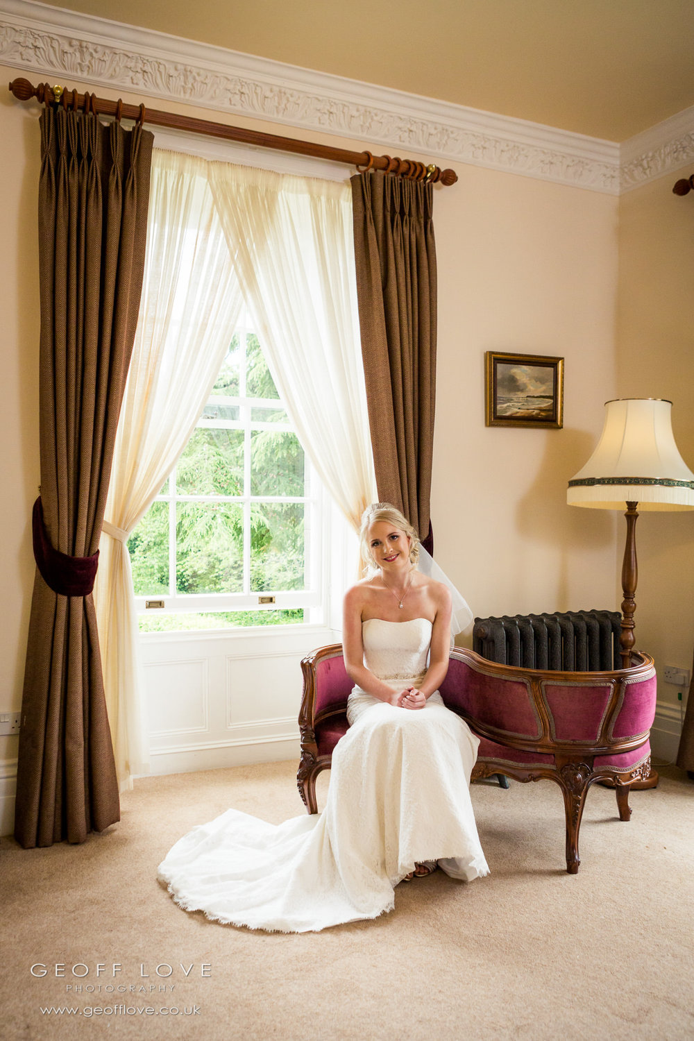 doxford hall wedding bedroom