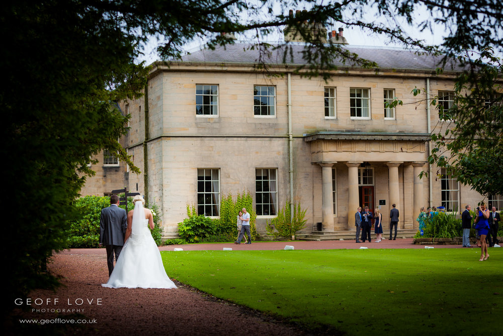 linden hall wedding gardens photo