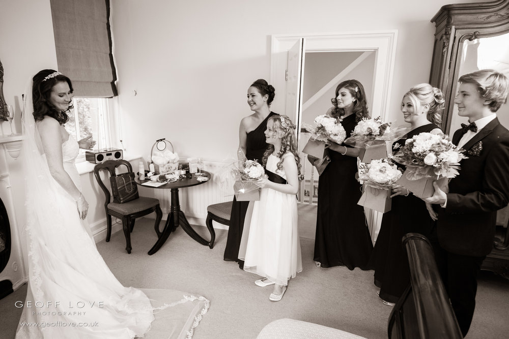 eshott hall wedding photographer