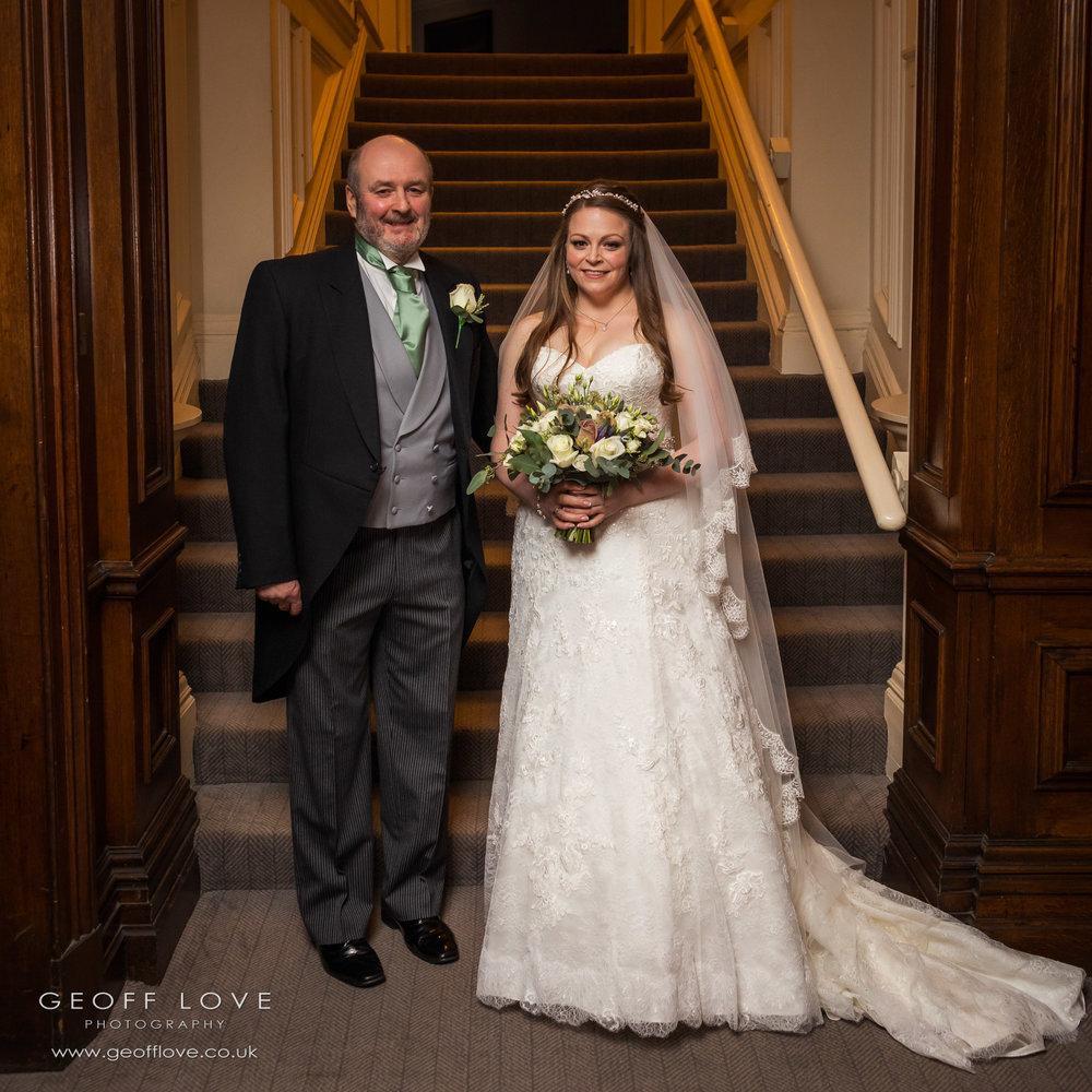 beamish hall hotel wedding photographer