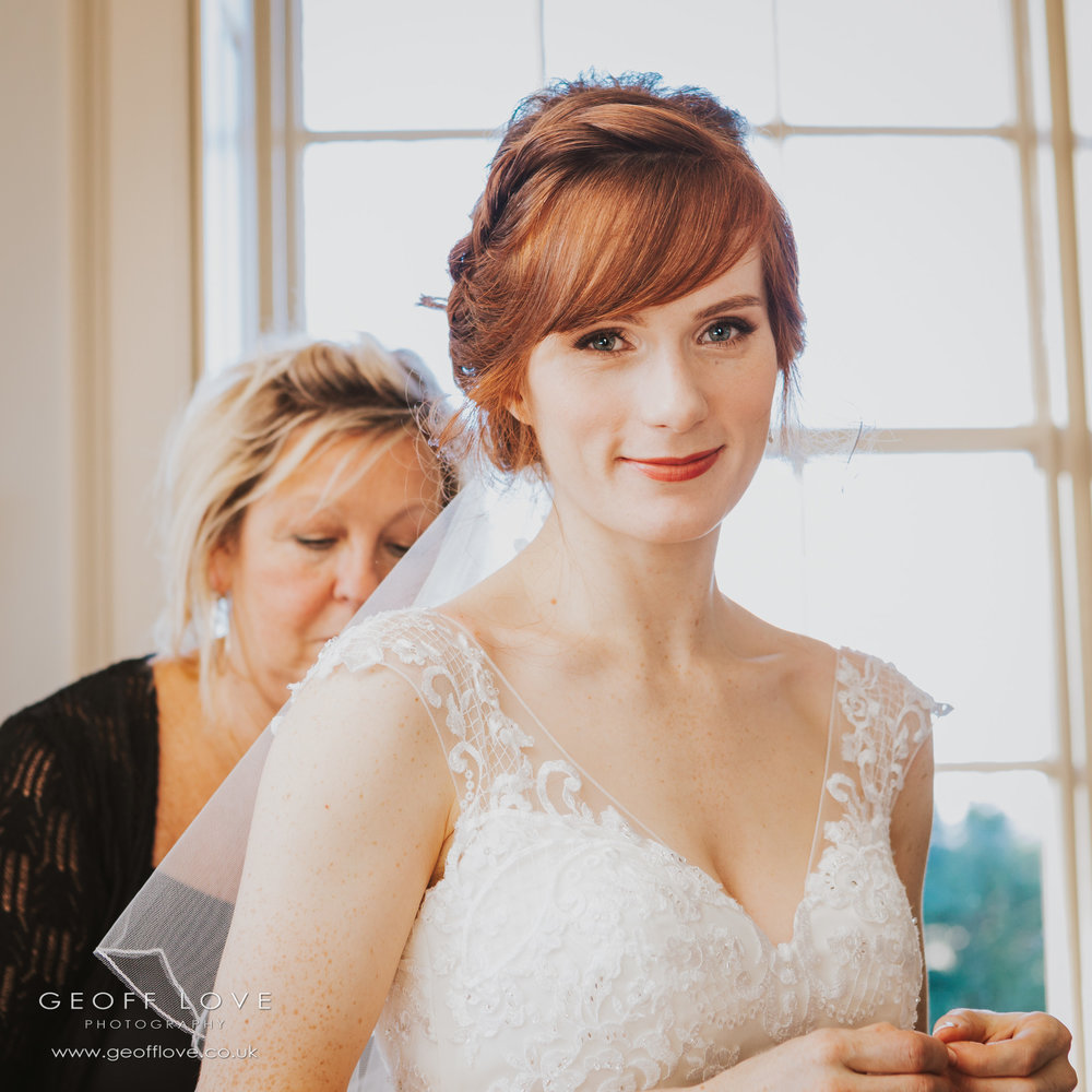 newton hall wedding photographer