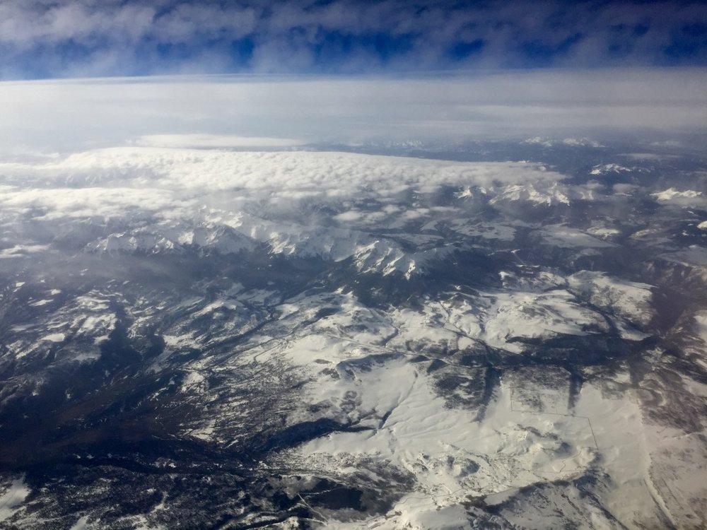 Snowy Rocky Mountains
