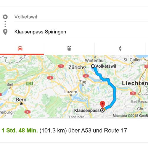 5. Planung Anreise  Die Planung der Anreise zur Location ist für mich ein ebenso wichtiger Punkt. Wie komme ich zur Location? Gibt es Parkplätze in der nahen Umgebung? Wieviel Zeit brauche ich von der Unterkunft bis zur Location? Öfters ist man schon vor Sonnenaufgang in der Dunkelheit unterwegs. Wenn möglich versuche ich solche Locations bei Tageslicht zu erkunden, damit ich am Tag X genau weiss, wo ich hin muss, wie die Gegebenheiten sind und wieviel Zeit ich für die Anreise benötige.