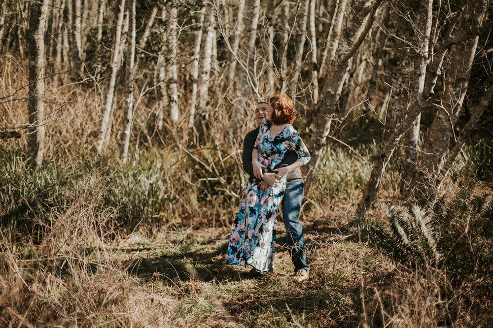 Anniversary Session on the Washington Coast   Rosemary & Pine Photography