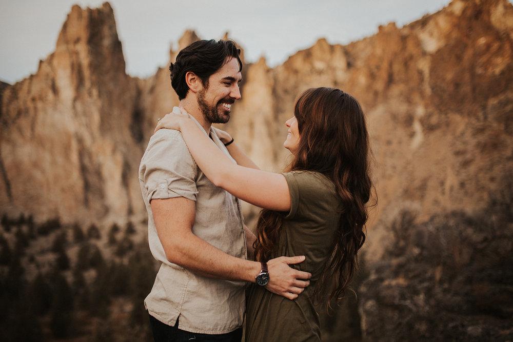 Smith Rock State Park Proposal, Terrebonne Oregon | Rosemary & Pine Photography
