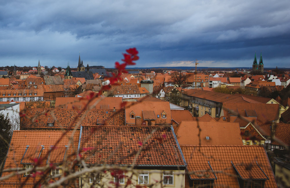 View from the Quedlinburg Castle-Hill