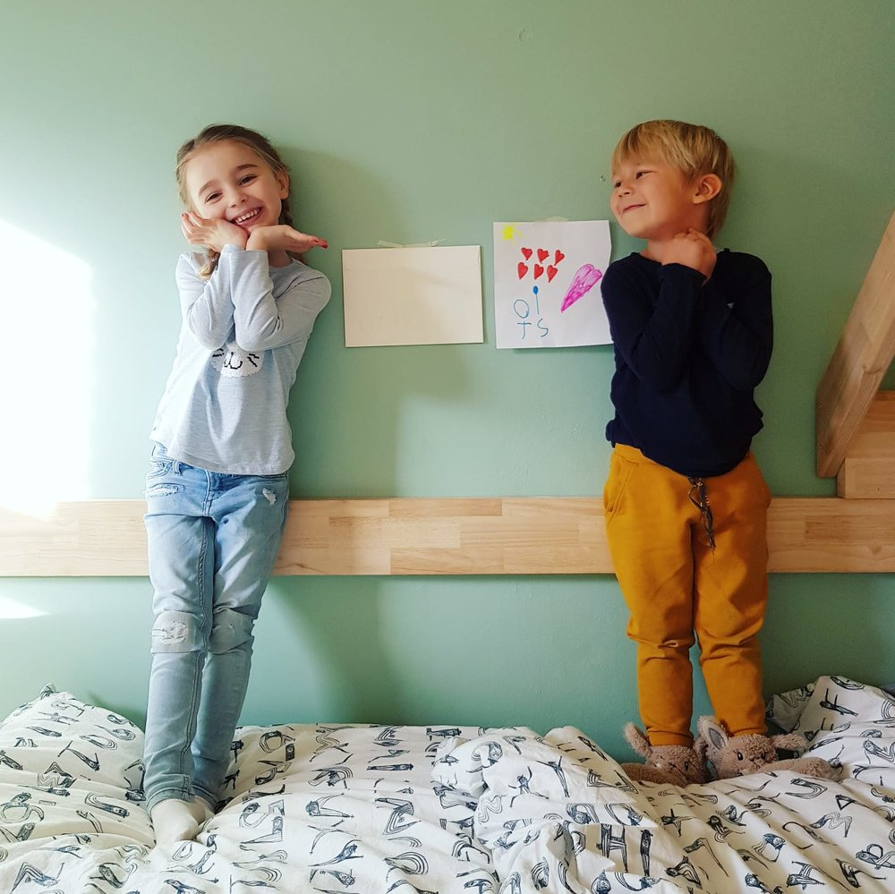 Happy kids & friends