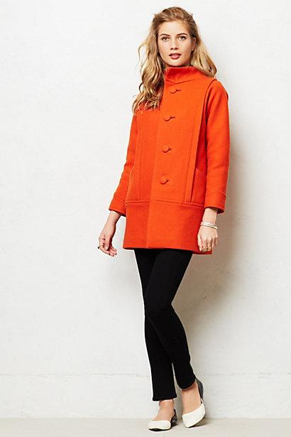 Pimenton Funnelneck Coat. Anthropologie. $450.
