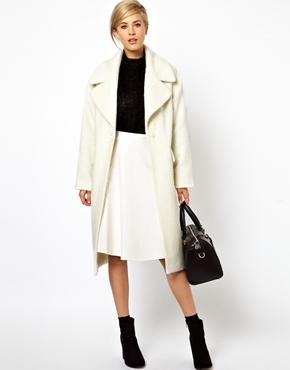 ASOS Vintage style cocoon coat. $195.78