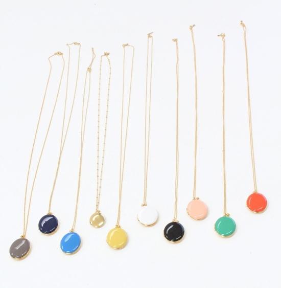 Beklina French enameled lockets. Available in multiple colors. Beklina. $98.