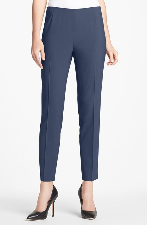Lafayette 148 New York Side zip stretch wool pants. Nordstrom. was $218 now $174.40.