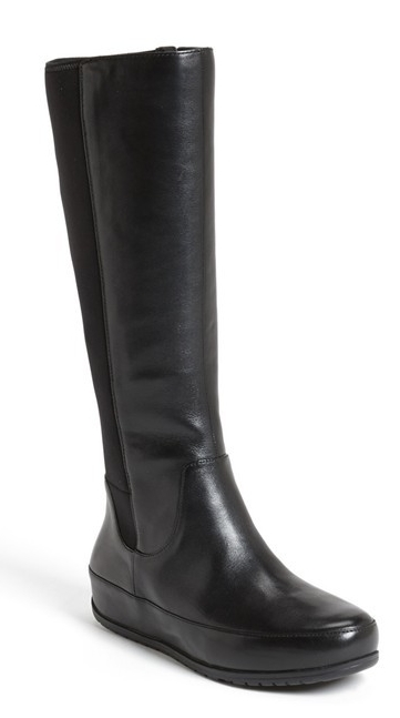 Fit Flop due tall leather stretch boot. Nordstrom. $274.95