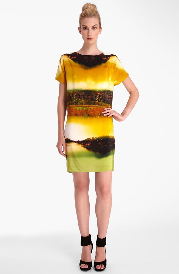 Catherine Catherine Malandrino 'Harper' shift dress. Nordstrom. $138.