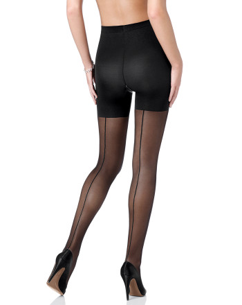 SPANX Sheer fashion pantyhose - back seam. Spanx.com.