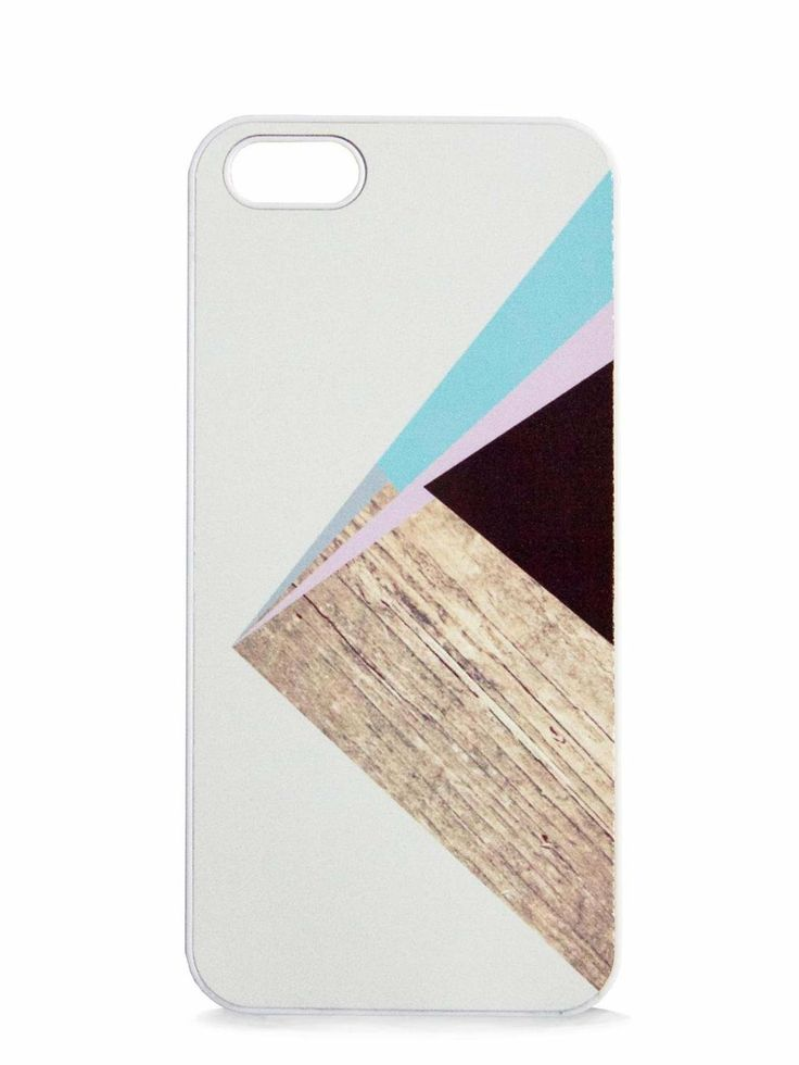 BlissfulCASE iphone 5/5s. GeoPink Color Block print case. Bluefly.com. $25.