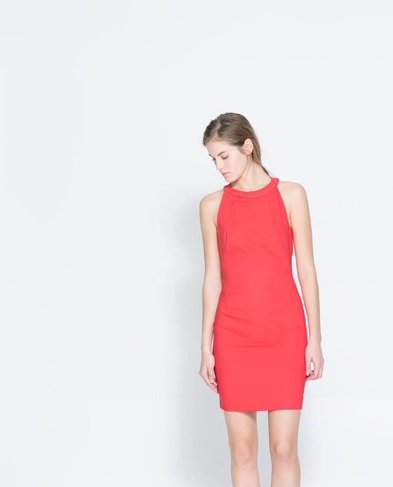 Halter neck dress. Zara. Was: $59.90. Now: $39.99.
