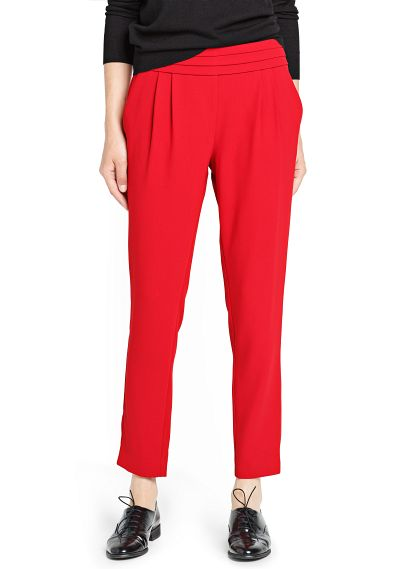 Pleated baggy trousers. Mango. Was: $59.99 Now: $29.99