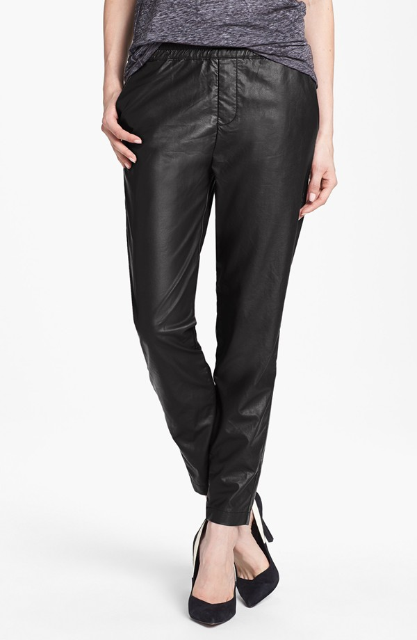 Piper Faux leather track pants. Nordstrom. Was: $68 Now: $24.97. I have these!