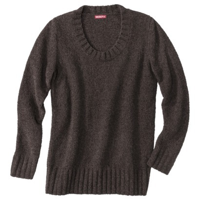 Merona Chenille pullover top. Available in multiple colors. Target. Was: $27.99 Now: $19.58.