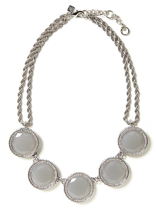 Gumdrop necklace. Available in multiple colors. Banana Republic. $59.50. + 35% off your purchase through 1/22/14 with code: BRSAVE35.