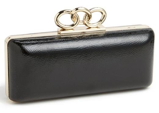Diane von Furstenberg Sutra leather minaudière. Nordstrom. $345.