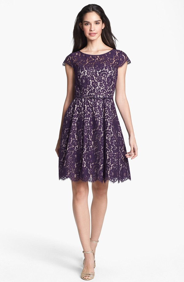 Eliza J Lace Fit & Flare Dress. Nordstrom. $198.