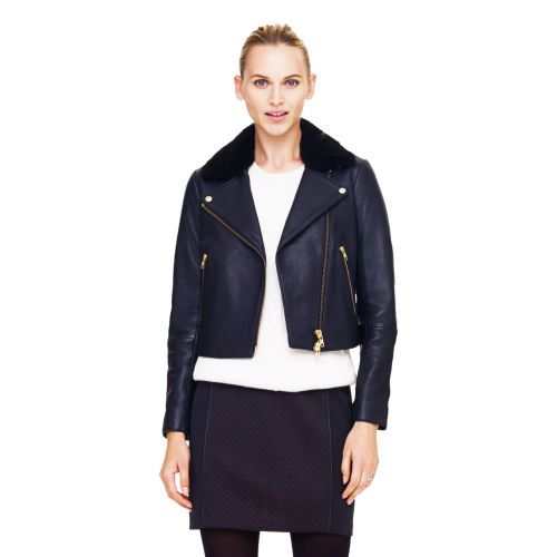 Kenzie Leather jacket. Club Monaco. $695.