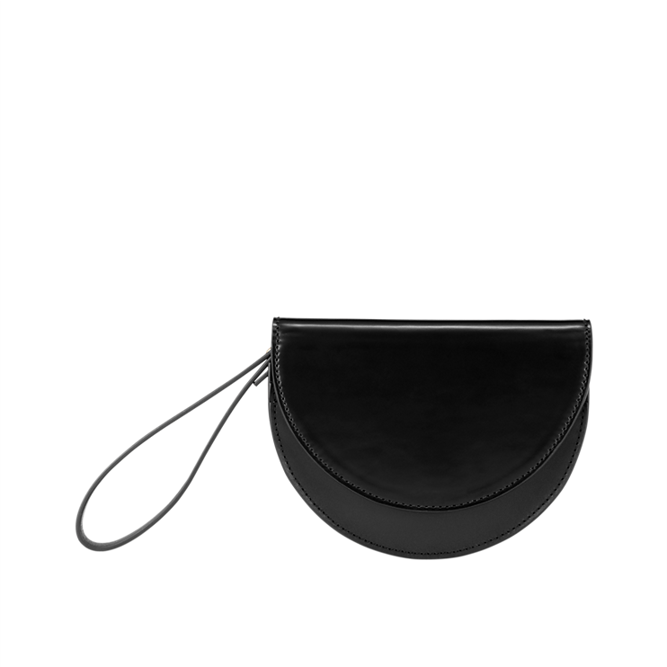 Kate Spade Half-circle wristlet. Saturday.com. $90.