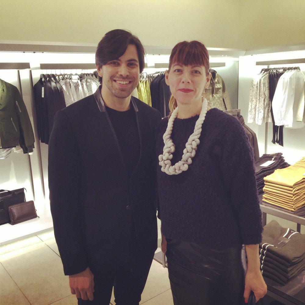 The exceptionally kind and helpful Sami Mazloum, Men's Director for West Coast, Zara Menswear. You won't meet more welcoming group than the Zara team.