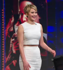 Yup. That's Jennifer Lawrence on the Daily Show.