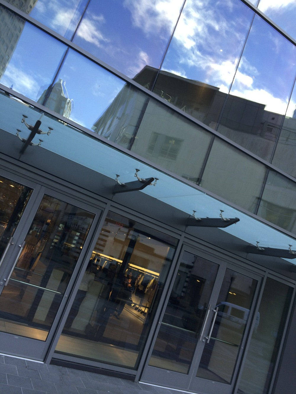 Zara Seattle. The flagship store before opening day.