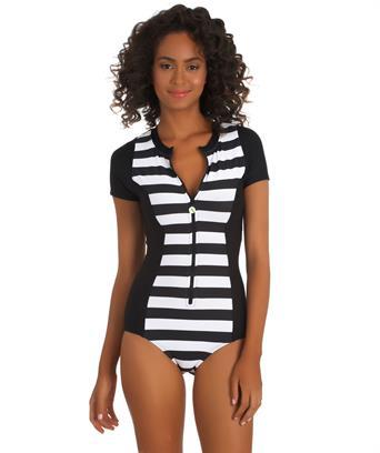 SUP Bathing suit. Next lined up Malibu zip up one piece. Swim Spot. $91.