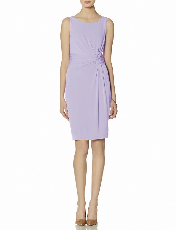 Twist front dress. Available in lavender, pink. The Limited. $79.95 Buy one get one free mix and match.